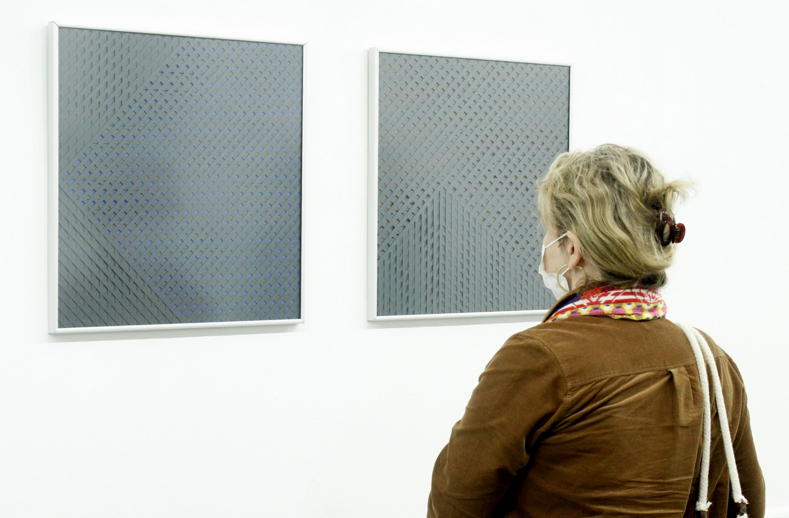 W dniu 3 września 2021 r. odbył się wernisaż wystawy Agnieszki Wasiak pt. RYTM PIĘKNA