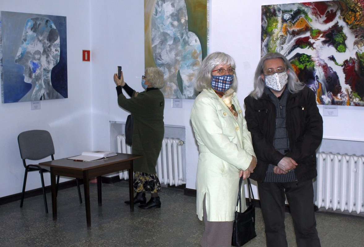 Wernisaż wystawy malarstwa Jolanty Markowicz pt. Stan zapalny